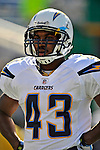 19 October 2008:  San Diego Chargers' running back Darren Sproles warms up prior to a game against the Buffalo Bills at Ralph Wilson Stadium in Orchard Park, NY. The Bills defeated the Chargers 23-14 and maintain their first place position in the AFC East with a 5 and 1 record...Mandatory Photo Credit: Ed Wolfstein Photo