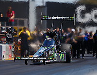 Jul 30, 2016; Sonoma, CA, USA; NHRA top fuel driver Brittany Force during qualifying for the Sonoma Nationals at Sonoma Raceway. Mandatory Credit: Mark J. Rebilas-USA TODAY Sports