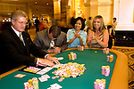 People gaming at Las Vegas, Nevada, Caesars Palace and Casino, gaming, gambling, poker, model released, NV, Las Vegas, Photo nv207-17218.  .Copyright: Lee Foster, www.fostertravel.com, 510-549-2202,lee@fostertravel.com