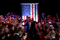 NEW YORK, NY MAY 03: Front Runner Republican presidential candidate Donald Trump arrives to the Trump Tower after his victory in the Indiana primary at the Trump Tower in Manhattan on May 03, 2016 in New York City.  Senator Ted Cruz suspended his presidential campaign hours after Trump was declared the winner(Photo by VIEWpress)