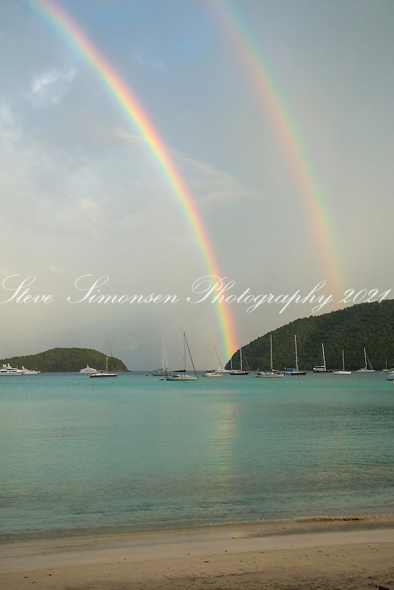 Maho Bay Rainbow<br />