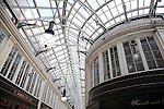 Roof of the Argyll Shopping Arcade in Glasgow Scotland