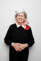 Pauline Mc Kelvey from St Ives is pictured at The 2012 Historic Houses Trust of NSW annual Fifties Fair at Rose Seidler House, Sydney. Picture James Horan