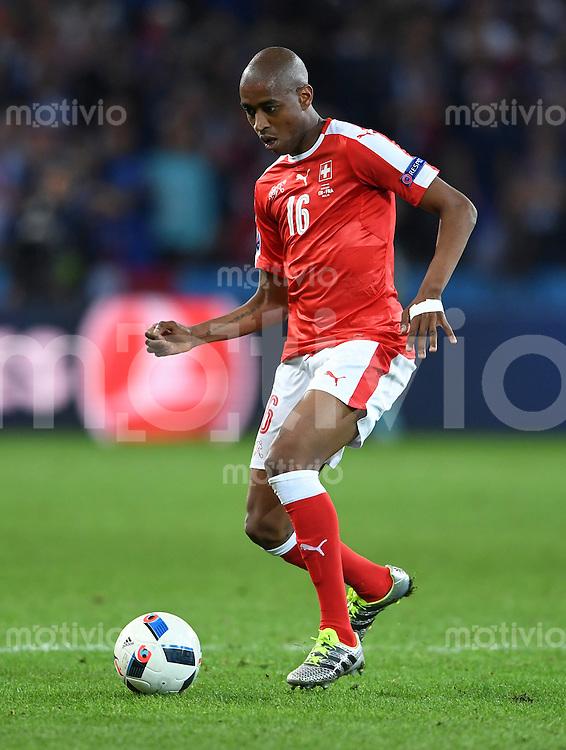 FUSSBALL EURO 2016 GRUPPE A IN LILLE Schweiz - Frankreich     19.06.2016 Gelson Fernandes (Schweiz)