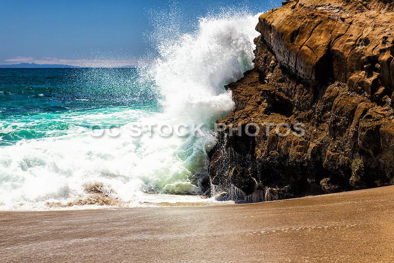 Landscape Boulders Orange County Ca : Table rock beach in laguna california socal stock photos oc
