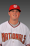 14 March 2008: ..Portrait of William Rhinehart, Washington Nationals Minor League player at Spring Training Camp 2008..Mandatory Photo Credit: Ed Wolfstein Photo