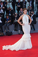 Carly Steel  at the opening ceremony and the premiere of  at the 2016 Venice Film Festival.<br /> August 31, 2016  Venice, Italy<br /> CAP/KA<br /> &copy;Kristina Afanasyeva/Capital Pictures /MediaPunch ***NORTH AND SOUTH AMERICAS ONLY***