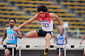 Takatoshi Abe (JPN),..JULY 8, 2011 - Athletics :The 19th Asian Athletics Championships Hyogo/Kobe, Men's 400mH Round 1 at Kobe Sports Park Stadium, Hyogo ,Japan. (Photo by Jun Tsukida/AFLO SPORT) [0003]