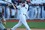 Ole Miss' Alex Yarbrough (2) vs. Arkansas State in baseball action at Oxford-University Stadium in Oxford, Miss. on Tuesday, February 21, 2012. Ole Miss won the home opener 8-1 to improve to 2-1 on the season. Arkansas State dropped to 0-3.