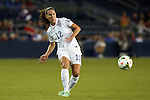 15 October 2014: Lauren Holiday (USA). The United States Women's National Team played the Trinidad and Tobago Women's National Team at Sporting Park in Kansas City, Kansas in a 2014 CONCACAF Women's Championship Group A game, which serves as a qualifying tournament for the 2015 FIFA Women's World Cup in Canada. The United States won the game 1-0.