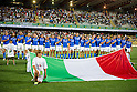 Italy team group line up (ITA), AUGUST 13, 2011, Rugby : International test match between Italy 31-24 Japan at Dino Manuzzi Stadium, Cesena, Italy, (Photo by Enrico Calderoni/AFLO SPORT) [0391]