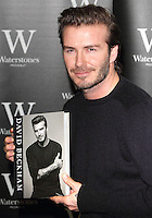 DEC 19 David Beckham Signing @ Waterstones Piccadilly