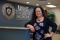 NWA Democrat-Gazette/DAVID GOTTSCHALK  Dr. Nia Aitaoto, director of the Pacific Islander Health Center through the University of Arkansas for Medical Science, at the Northwest Campus, Tuesday, November 8, 2016, in Fayetteville.