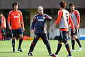 Albert Zaccheroni Head Coach (JPN), .April 24, 2012 - Football / Soccer : .Japan National Team Training Camp .at Akitsu Park football Stadium, Chiba, Japan. .(Photo by Daiju Kitamura/AFLO SPORT) [1045]