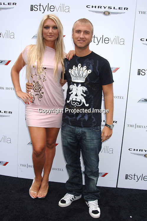 Photo of Brooke Hogan & her Brother  Nick Hogan