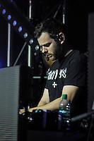 LONDON, ENGLAND - AUGUST 29: Mike Skinner performing at 'House of Common', Clapham Common on August 29, 2016 in London, England.<br /> CAP/MAR<br /> &copy;MAR/Capital Pictures /MediaPunch ***NORTH AND SOUTH AMERICAS ONLY***