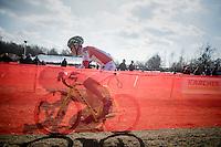 shadowplay by Arno Van Den Broeck (BEL/Iko Enertherm-Beobank)<br /> <br /> junior men's race<br /> CX Soudal Classics Leuven/Belgium 2017