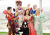 Dick Whittington <br /> publicity pictures <br /> taken from The View From The Shard, London Bridge Quarter, London, Great Britain <br /> press photocall <br /> 17th November 2016 <br /> <br /> <br /> Matthew Kelly as Sarah the Cook <br /> <br /> Arlene Phillips as Fairy Bowbells <br /> <br /> Sam Hallion as Dick Whittington <br /> <br /> Alice Fitzwarren as Grace Chapman <br /> <br /> Tim Vine as idle jack <br /> <br /> Victoria Williams as The Cat <br /> <br /> Photograph by Elliott Franks <br /> Image licensed to Elliott Franks Photography Services