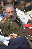 Photo file / Cuban President Raul Castro is seen in January, 2000 in Havana, Cuba. . Credit: Jorge Rey/MediaPunch