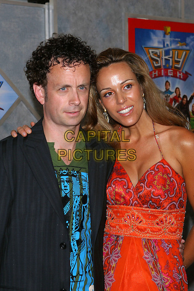 """24 July 2005 - Hollywood, CA - Kevin McDonlad and guest. World premiere of """"Sky High"""" held at The El Capitan Theatre..Photo credit: Jacqui Wong/AdMedia"""