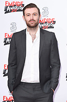 James McArdle at the Empire Film Awards 2017 at The Roundhouse, Camden, London, UK. <br /> 19 March  2017<br /> Picture: Steve Vas/Featureflash/SilverHub 0208 004 5359 sales@silverhubmedia.com