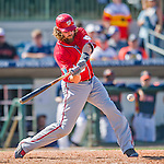 15 March 2016: Washington Nationals outfielder Jayson Werth in action during a Spring Training pre-season game against the Houston Astros at Osceola County Stadium in Kissimmee, Florida. The Nationals defeated the Astros 6-4 in Grapefruit League play. Mandatory Credit: Ed Wolfstein Photo *** RAW (NEF) Image File Available ***