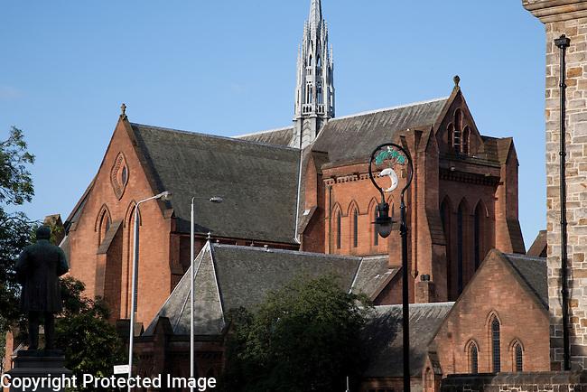 Barony Halls in University of Strathclyde, Glasgow, Scotland