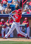 7 March 2016: Washington Nationals outfielder Ben Revere in action during a Spring Training pre-season game against the Miami Marlins at Space Coast Stadium in Viera, Florida. The Nationals defeated the Marlins 7-4 in Grapefruit League play. Mandatory Credit: Ed Wolfstein Photo *** RAW (NEF) Image File Available ***