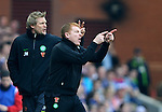 Neil Lennon and Johan Mjallby