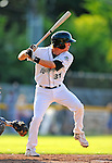 2 July 2011: Vermont Lake Monsters infielder Jacob Tanis in action against the Tri-City ValleyCats at Centennial Field in Burlington, Vermont. The Lake Monsters rallied from a 4-2 deficit to defeat the ValletCats 7-4 in NY Penn League action. Mandatory Credit: Ed Wolfstein Photo