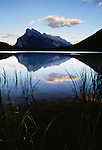 Vermilion Lake and Mount Rundle, Banff National Park, Alberta, Canada