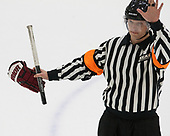 Robert St. Lawrence - The Harvard University Crimson tied the visiting Yale University Bulldogs 1-1 on Saturday, January 21, 2017, at the Bright-Landry Hockey Center in Boston, Massachusetts.