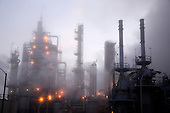Stock Photo of Industrial Refinery