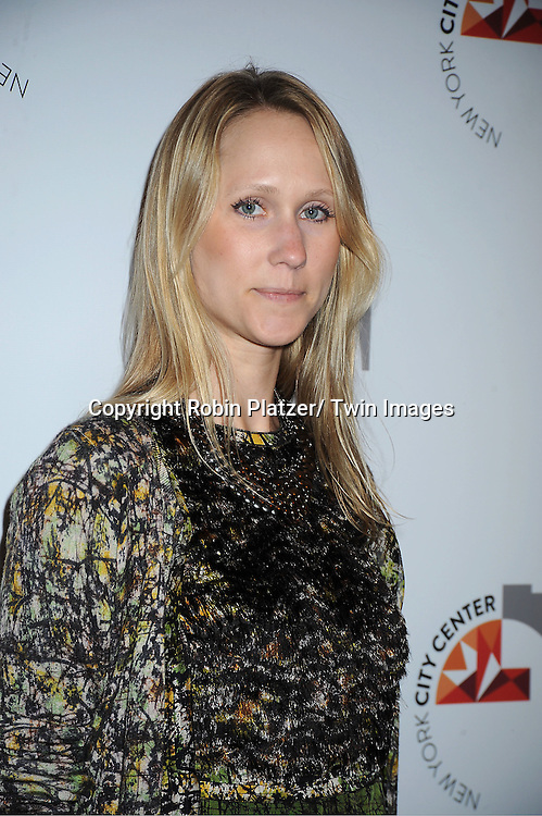 Andrea Rockefeller attends the New York City Center Reopening on October 25, 2011 at City Center in New York City.