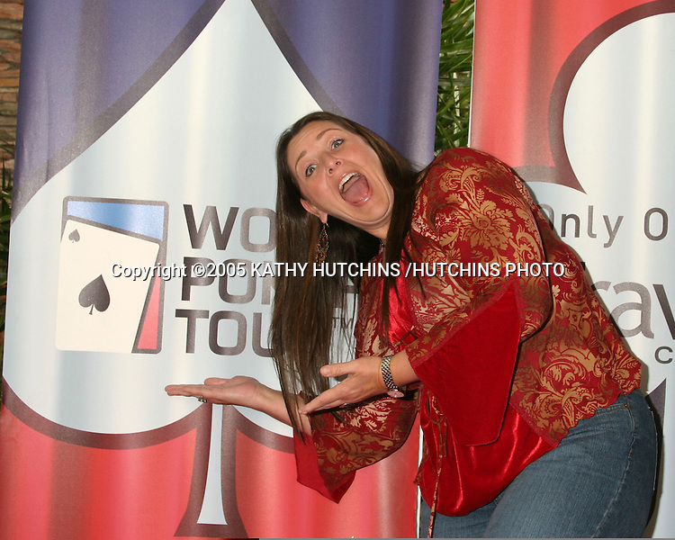 CAMRYN MANHEIM.LA POKER CLASSIC & WORLD POKER TOUR INVITATIONAL.COMMERCE CASINO.LOS ANGELES, CA.FEBRUARY 23, 2005.©2005 KATHY HUTCHINS /HUTCHINS PHOTO...