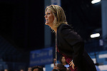 30 December 2014: Albany head coach Katie Abrahamson-Henderson. The University of North Carolina Tar Heels hosted the University at Albany Great Danes at Carmichael Arena in Chapel Hill, North Carolina in a 2014-15 NCAA Division I Women's Basketball game. UNC won the game 71-56.
