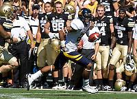California Bears vs Colorado Buffaloes September 10 2011