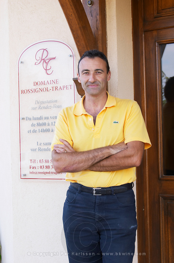 Nicolas Rossignol-Trapet  owner dom rossignol trapet gevrey-chambertin cote de nuits burgundy france