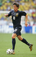 Harry Kewell of Australia. Brazil defeated Australia, 2-0, in their FIFA World Cup Group F match at the FIFA World Cup Stadium, Munich, Germany, June 18, 2006.