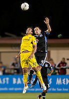 Saturday May 19th, 2012:  San Jose, California - The San Jose Earthquakes and the Columbus Crew tie 1-1 at Buck Shaw Stadium during a regular season game.