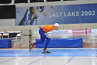 SCHAATSEN: SALT LAKE CITY: Utah Olympic Oval, 14-11-2013, Essent ISU World Cup, training, Rhian Ket (NED), ©foto Martin de Jong