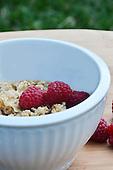 Stock photo of raspberries