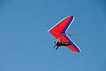 Hang gliding, hang glider, Fort Funston, San Francisco, California, USA.  Photo copyright Lee Foster.  Photo # california108413