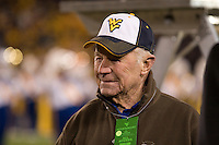 West Virginia native General Chuck Yeager was honored during the Pitt-West Virginia game on December 01, 2007 at Mountaineer Field, Morgantown, West Virginia.