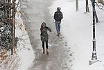 Snow Covers Campus