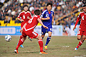 Shinji Kagawa (JPN), NOVEMBER 11, 2011 - Football / Soccer : 2014 FIFA World Cup Asian Qualifiers Third round Group C match between Tajikistan 0-4 Japan at Central Stadium in Dushanbe, Tajikistan. (Photo by Jinten Sawada/AFLO)