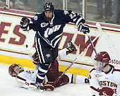 Michael Matheson (BC - 5), Kyle Smith (UNH - 23) - The Boston College Eagles defeated the visiting University of New Hampshire Wildcats 6-2 on Friday, December 6, 2013, at Kelley Rink in Conte Forum in Chestnut Hill, Massachusetts.