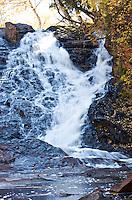 Beautiful waterfall located in the Keweenaw Peninsula in Michigan's Upper Peninsula.