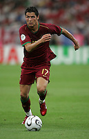 Cristiano Ronaldo.  Portugal defeated England on penalty kicks after playing to a 0-0 tie in regulation in their FIFA World Cup quarterfinal match at FIFA World Cup Stadium in Gelsenkirchen, Germany, July 1, 2006.