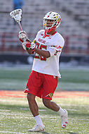 College Park, MD - March 18, 2017: Maryland Terrapins Isaiah Davis-Allen (26) in action during game between Villanova and Maryland at  Capital One Field at Maryland Stadium in College Park, MD.  (Photo by Elliott Brown/Media Images International)